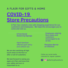 A Flair Covid 19 Store Procedures