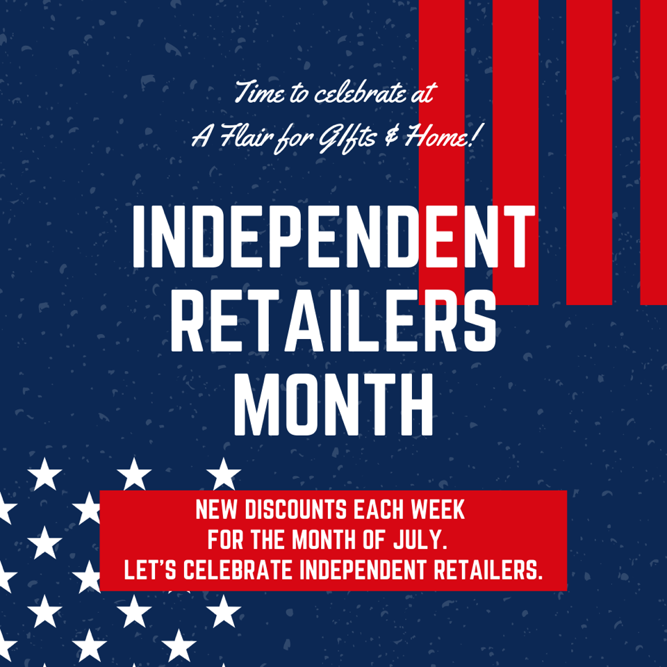 Independent Retailers Month July