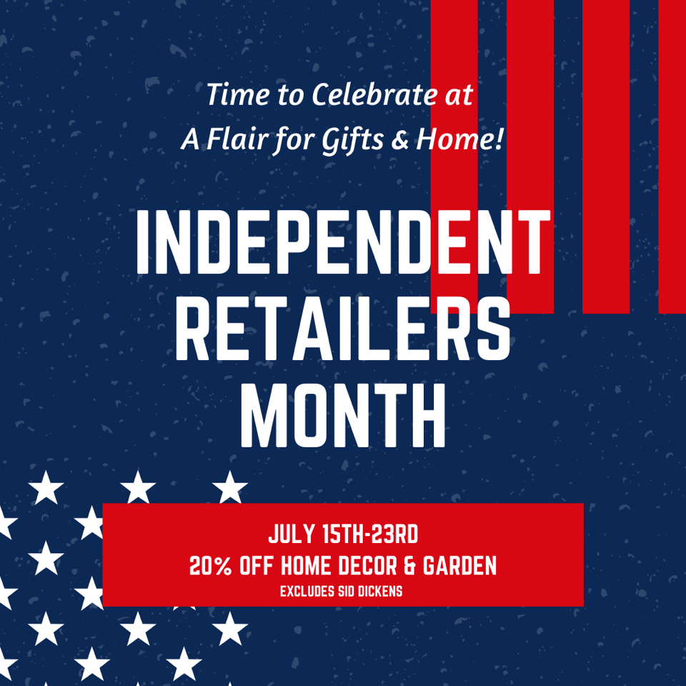 Independent Retailers 20% Off