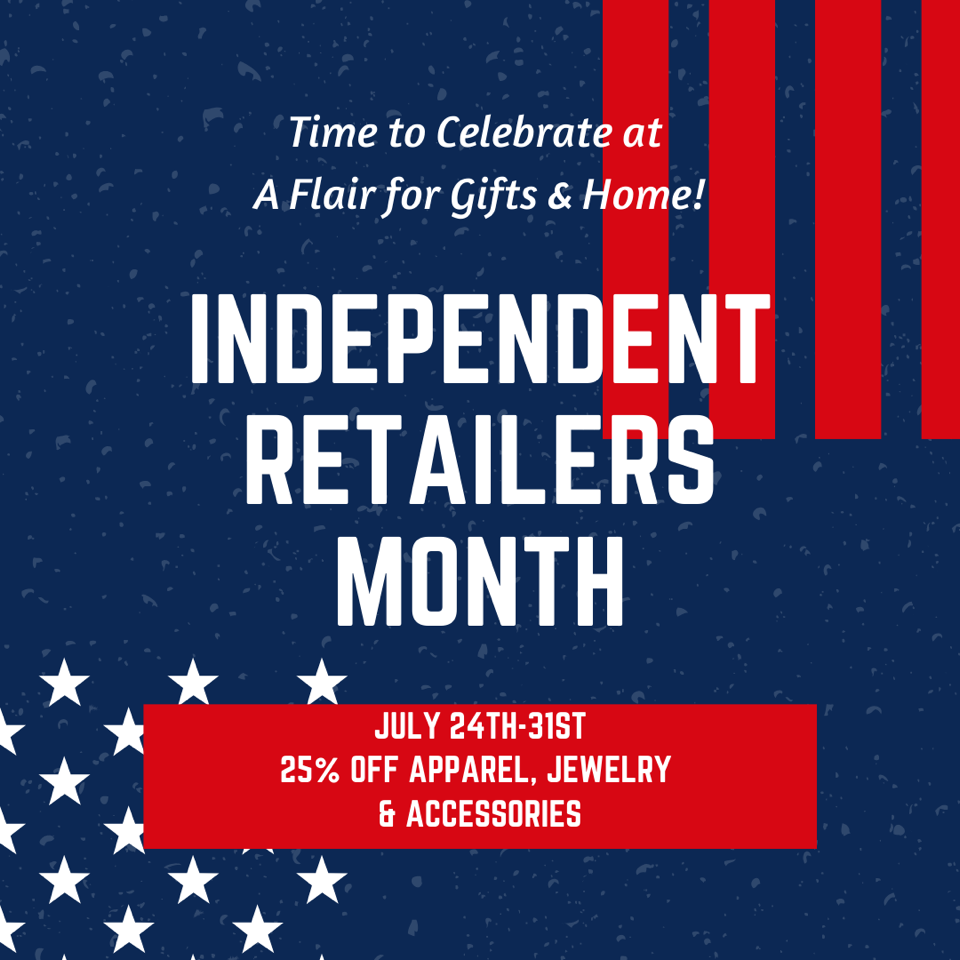 Independent Retailers 25% Off